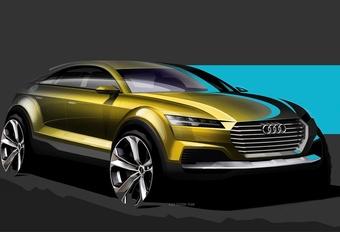 Nouveau concept Audi au salon de Pékin #1