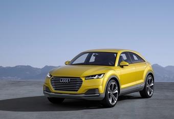 Audi TT offroad Concept #1