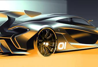 McLaren P1 GTR pour le circuit du dimanche #1