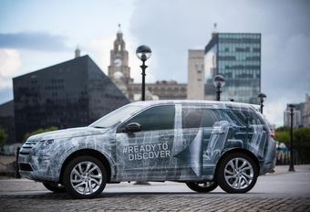 Le Land Rover Discovery Sport s'annonce #1