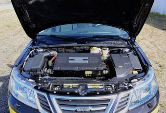 Le moteur de la Saab 9-3 NEVS #1