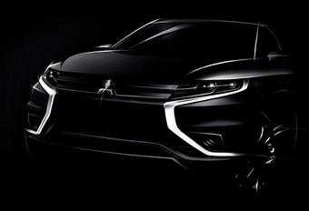 Mitsubishi Outlander PHEV Concept-S, du rhabillage #1