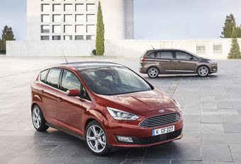 Face-lift des Ford C-Max et Grand C-Max #1