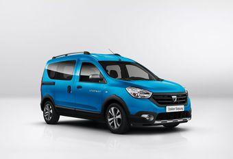 Dacia Dokker et Lodgy en habits Stepway #1