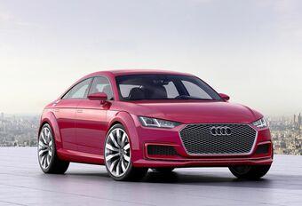 Audi TT Sportback, version allongée #1