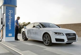 Audi A7 Sportback h-tron Quattro, hybride plug-in à hydrogène #1