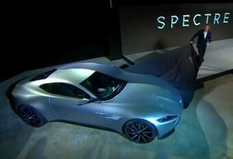 Aston Martin DB10 voor James Bond #1