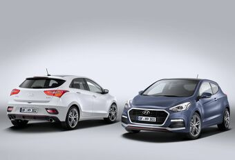 Salon auto Bruxelles 2015 : face-lift Hyundai i30 et i30 Turbo #1