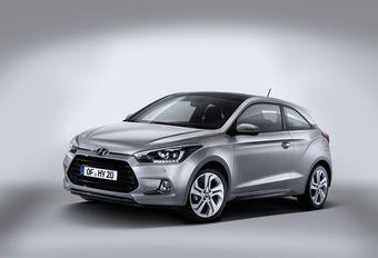 Hyundai i20 Coupé : 2 portes en moins et style spécifique #1