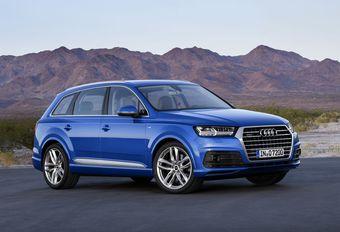 Salon auto Bruxelles 2015 : Audi Q7 au régime minceur #1