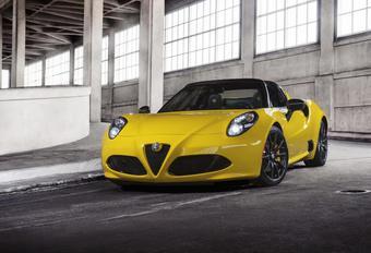 Alfa Romeo 4C Spider: haren in de wind #1