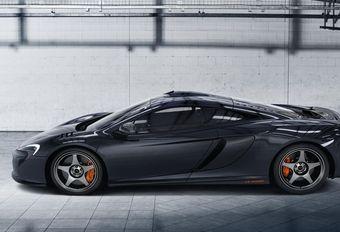 McLaren 650S Le Mans : en l'honneur des F1 GTR #1