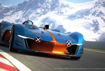 Alpine Vision Gran Turismo, van virtueel naar kleimodel #1
