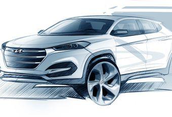 Salon Genève 2015 : Hyundai Tucson, une première ébauche #1