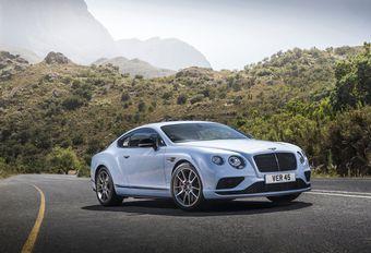 Salon Genève 2015 : gamme Bentley Continental GT retouchée #1