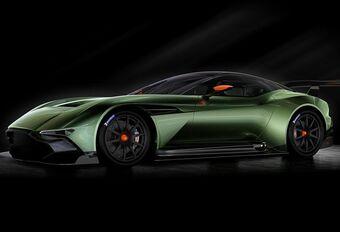 Salon van Genève 2015: Aston Martin Vulcan voor op circuit #1