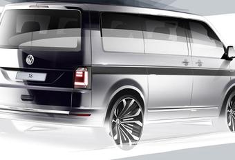 Le Volkswagen T6 se dévoilera en avril #1