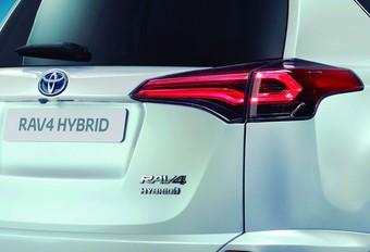 Toyota hybridera le RAV4 #1