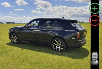 Wat vind ik van de Rolls-Royce Cullinan Black Badge? #1