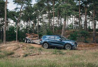 Ford Ranger et Explorer : en 4x4 avec 2,5 T sur la boule #1