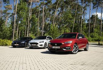 Trois berlines «à conduire» : Ford Focus, Honda Civic et Seat Leon #1
