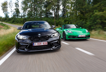 BMW M2 CS vs Porsche 718 Boxster GTS: Pret en verzet #1