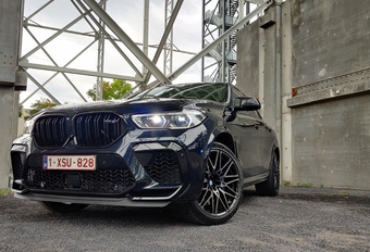 BMW X6 M Competition : musclecar moderne #1
