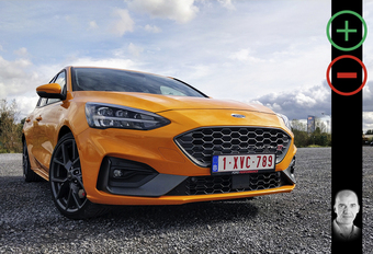 Ford Focus ST: orange sanguine #1