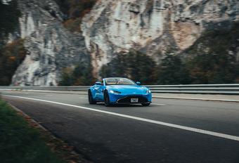 Aston Martin Vantage Roadster : Koele kikker #1