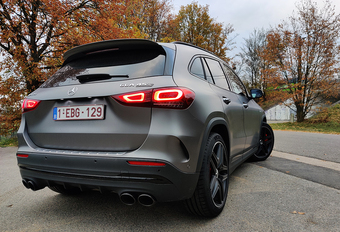 Mercedes-AMG GLA 45S 4Matic+ : excessif ? #1