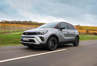 Opel Crossland : nouveau look #1