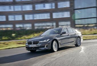 BMW 520e hybride rechargeable - le top pour les flottes #1