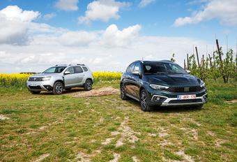 Dacia Duster vs Fiat Tipo Cross #1