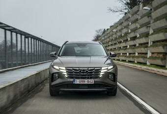 Hyundai Tuscon Plug-in Hybrid - le roi des flottes #1