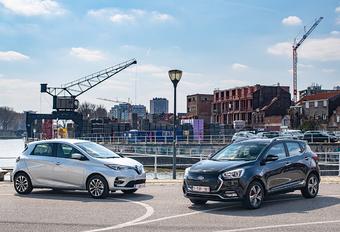 JAC iEV7s vs Renault ZOE #1