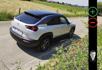 Test 2021 Mazda MX-30 e-SkyActiv - Review AutoGids
