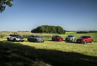 Le Hyundai Bayon et l'Opel Mokka face à la concurrence #1