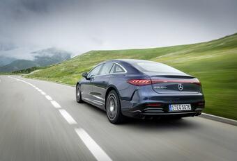 Mercedes EQS 450+: Met 780 kilometer elektrische autonomie
