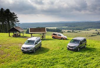 Welke bestelbreak wint driekamp VW Caddy, Renault Kangoo en Opel Combo? #1