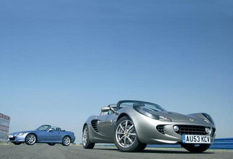 Honda S2000 vs Lotus Elise 111R #1