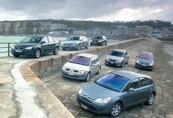 Citroën C4 1.6 HDi 110 vs. Ford Focus 1.6 TDCi, Mazda3 1.6 CDVi, Opel Astra 1.7 CDTi, Peugeot 307 1.6 HDI 110, Renault Mégane 1.5 dCi 100, VW Golf 1.9 TDI 105 #1
