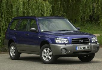 Subaru Forester 2.5 XT #1