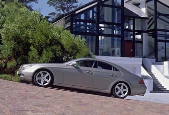 Mercedes CLS 500 & CLS 55 AMG #1