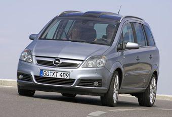 Opel Zafira 1.9 CDTI 100 & 1.9 CDTI 120 #1