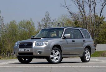 Subaru Forester 2.0 X & 2.5 XT #1