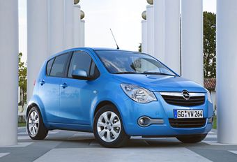 Opel Agila #1