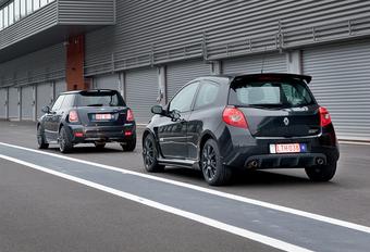 Mini Cooper S John Cooper Works & Renault Clio RS : Maxi Toys® #1