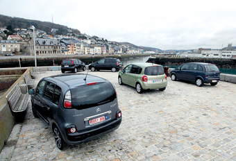 Citroën C3 Picasso 1.6 HDi 90, Hyundai Matrix 1.5 CRDi 110, Nissan Note 1.5 dCi 85, Opel Meriva 1.7 CDTI 100 & Renault Grand Modus 1.5 dCi 85 : Le cinquième as #1