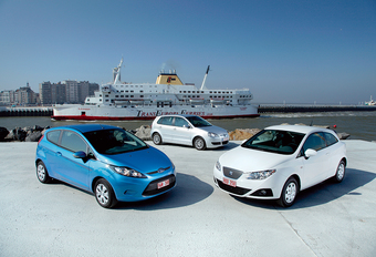 Ford Fiesta Econetic, Seat Ibiza Ecomotive & VW Polo BlueMotion : Premiejagers #1