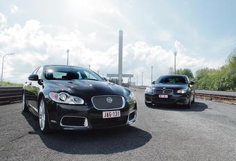 BMW M5 & Jaguar XFR : Passation de pouvoir?  #1